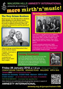 more mirth'n'music! @ The Coach House Theatre