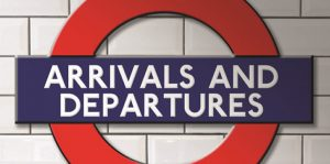 ARRIVALS AND DEPARTURES @ The Coach House Theatre