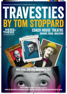 Travesties @ The Coach House Theatre