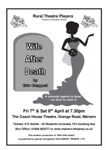 Wife After Death @ Coach House Theatre