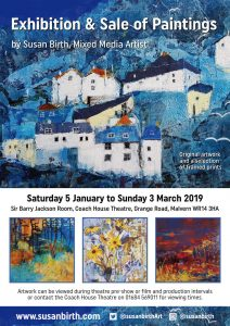 Susan Birth - Artist's Exhibition @ Sir Barry Jackson Room @ The Coach House Theatre