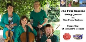 THE FOUR SEASONS STRING QUARTET WITH ALAN FAIRS @ The Coach House Theatre